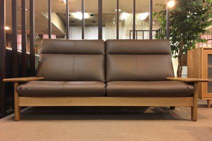 飛騨産業 「Standard Collection(スタンダードコレクション)」ソファ3P