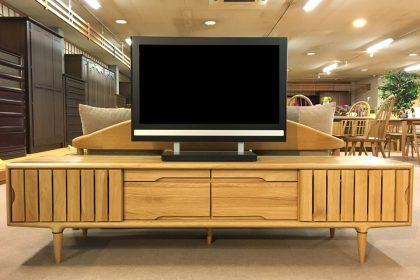 起立木工 「KISSUI(キッスイ)」 TVボード180 無垢 天然木