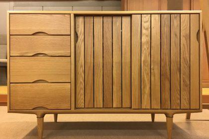 起立木工 「KISSUI(キッスイ)」 サイドボード120 無垢 天然木