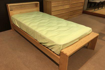 久和屋 「Cloud(クラウド)」 シングルベッドフレーム 天然木 国産材 無垢材