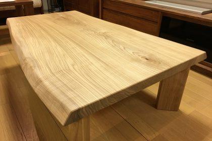 栓 セン 一枚板 リビングテーブル 座卓 飛騨の家具 木匠舘マイドゥ