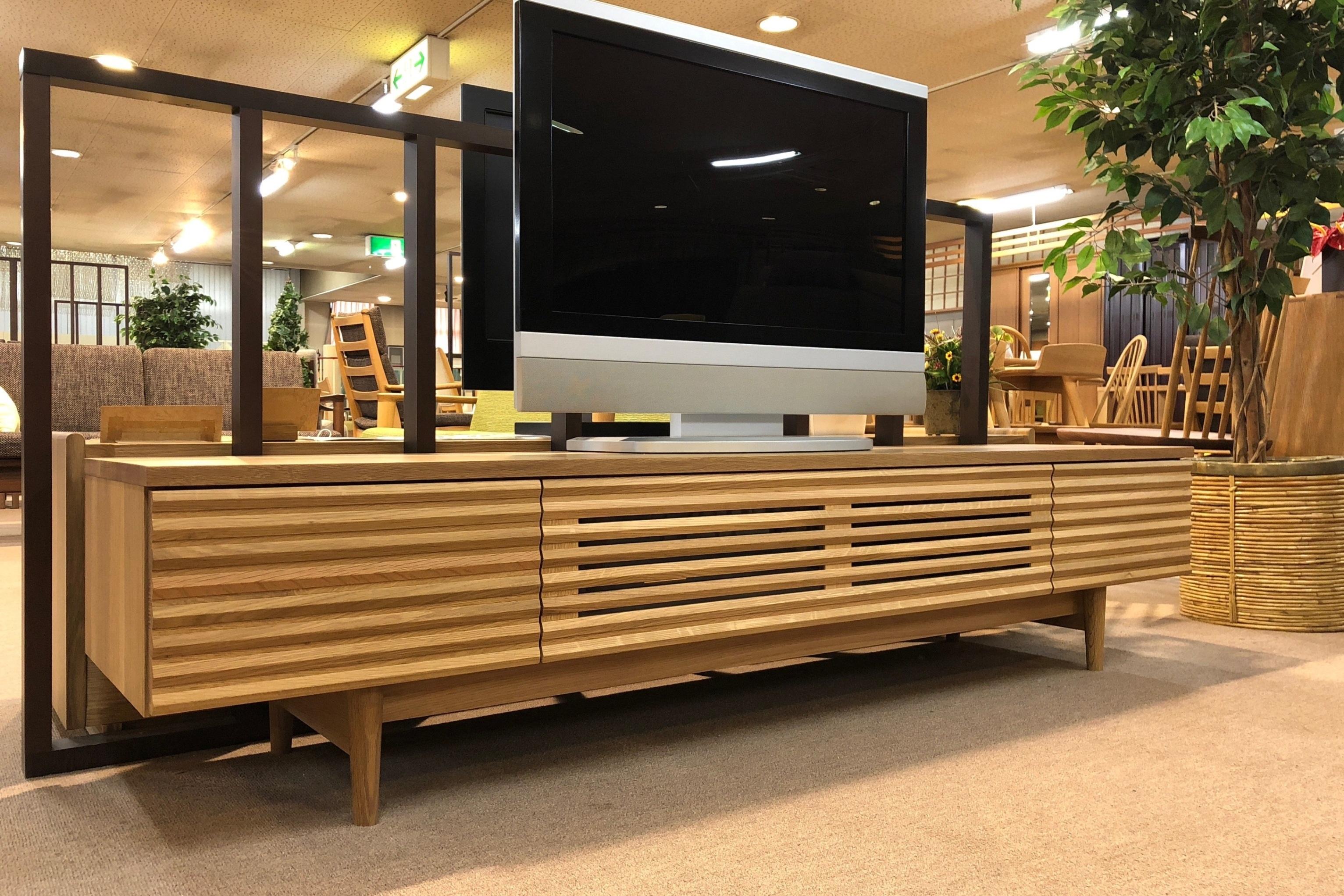 飛騨産業 TVボード AVキャビネット 無垢 木匠舘マイドゥ