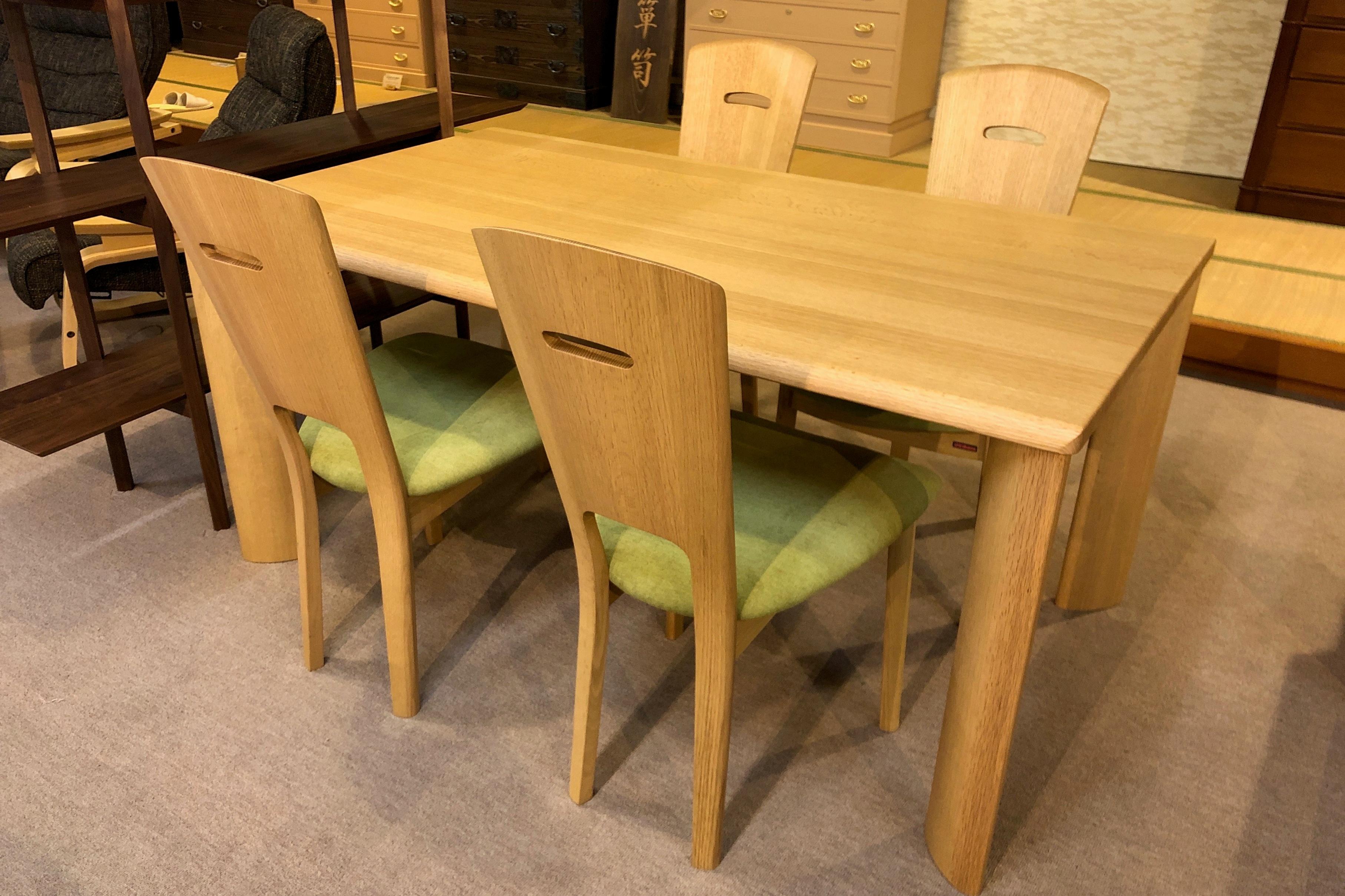 シラカワ 飛騨の家具 Rossetti ロセッティ ダイニング 無垢 天然木 テーブル チェア 木匠舘マイドゥ