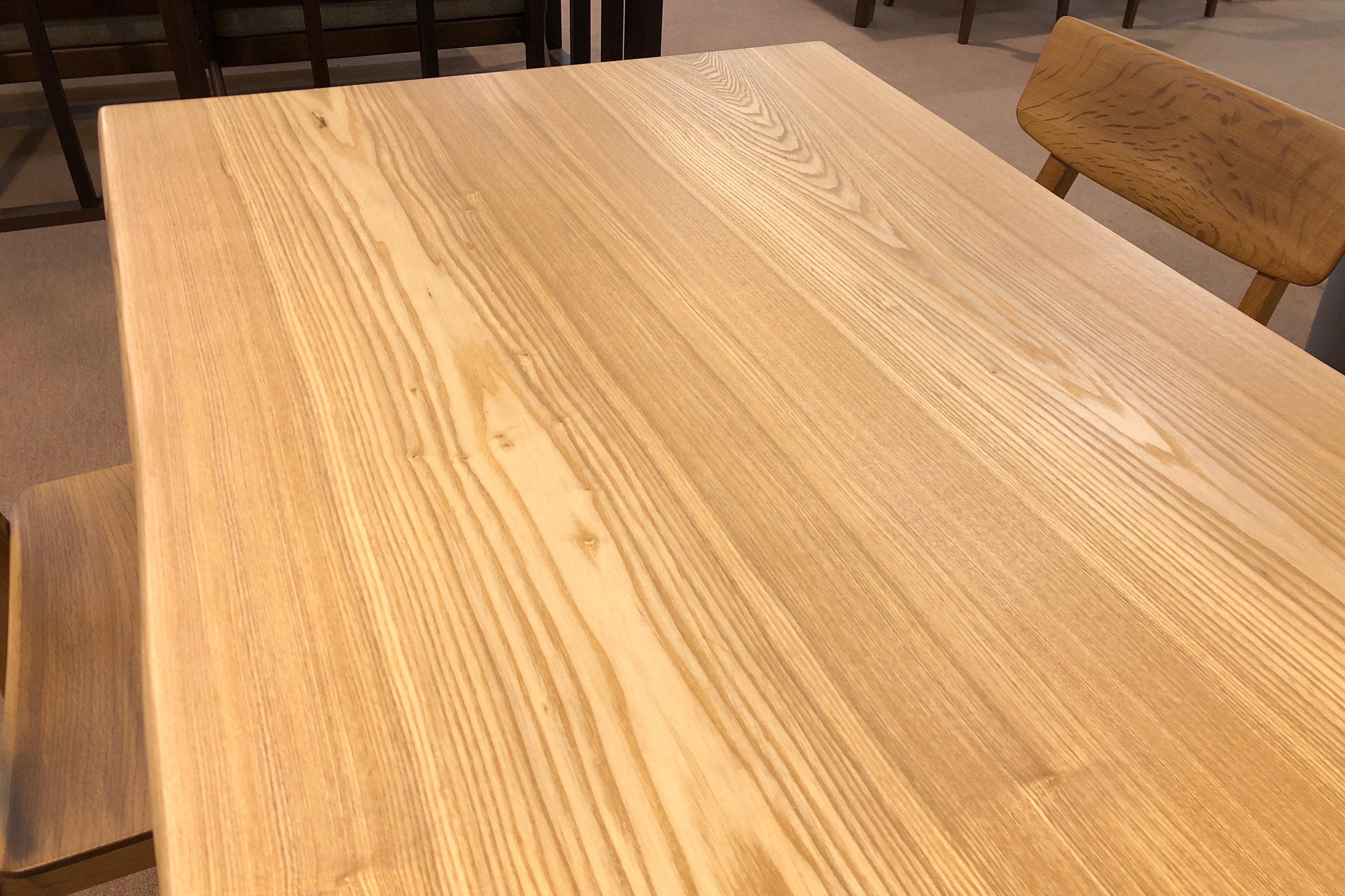 飛騨の家具 一枚板 無垢テーブル 天然木 ダイニングセット タモ 大阪 木匠舘マイドゥ