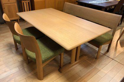 シラカワ 飛騨の家具 RAPT ラプト LDダイニング 無垢 天然木 テーブル チェア 木匠舘マイドゥ