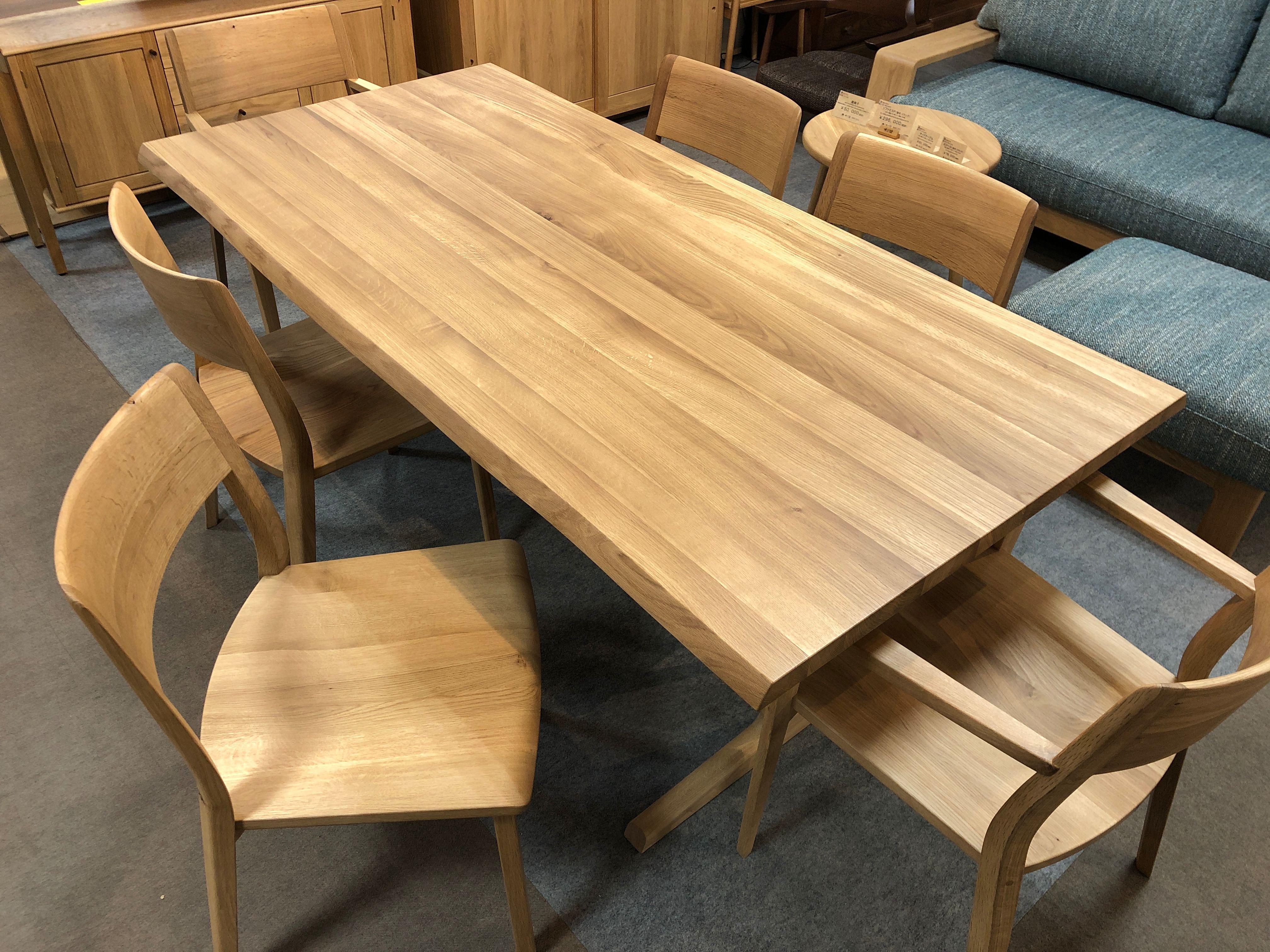 飛騨産業 風のうた ダイニング テーブル チェア 無垢 天然木 飛騨の家具 大阪 木匠舘マイドゥ 枚方家具団地